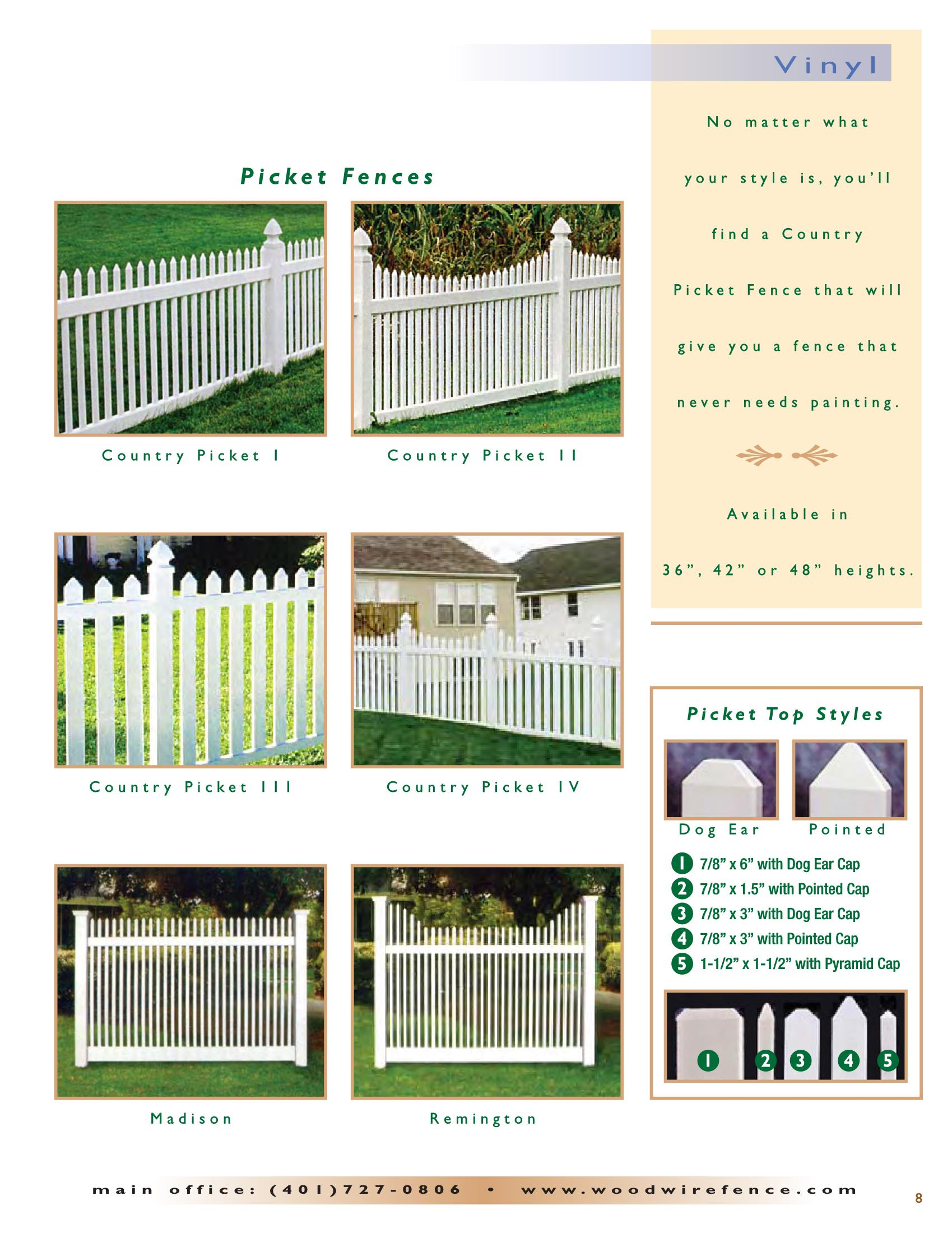 Ww Catalog 2016 Page 9 Ri Fences Wood And Wire Fence