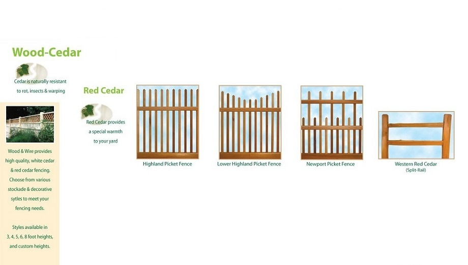 ri red cedar fence